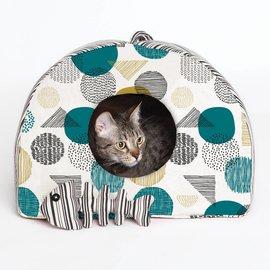 Katia Fabrics Naaipatroon  huisje voor kat en visgraat