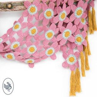 Haakpakket Tunisian Flower Shawl