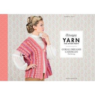 "Scheepjes Haakpatroon Yarn 16 ""The After Party""  Coral Dreams Cardigan"