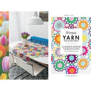 "Scheepjes Haakpatroon Yarn 11 ""The After Party""  Garden Room Table Cloth"