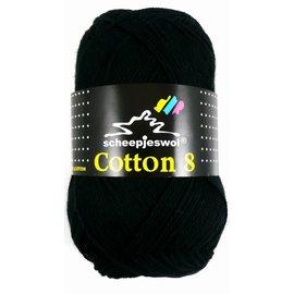 Scheepjes Cotton 8 515 Zwart