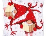 Borduurkussens Kerst