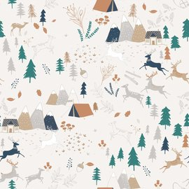 Katia Fabrics Sweater Camping Forest