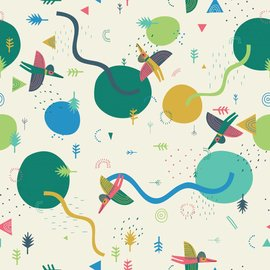 Katia Fabrics Sweater Prehistoric Landscape