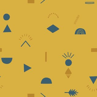 Katia Fabrics Prehistoric Coord katoen - per 25 cm