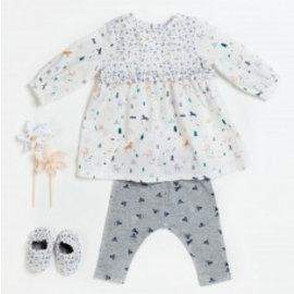 Katia Fabrics Naaipatroon Baby Jurk, legging en schoentjes