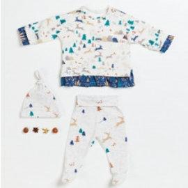 Katia Fabrics Naaipatroon Baby Sweater,Legging  en Muts