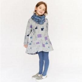 Katia Fabrics Naaipatroon meisjesjurk en losse kraag