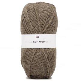 Rico Soft Wool Aran 4 Bruin