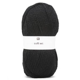 Rico Soft Wool Aran 18 Zwart