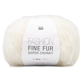 Rico Fine Fur Super Chunky 1 Creme