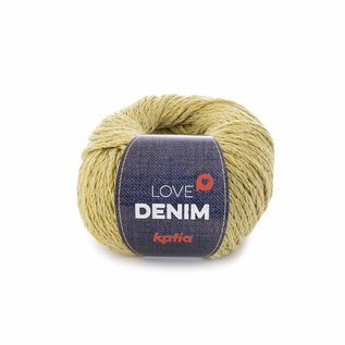 Katia Love Denim  108 Geel