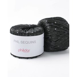 Phildar Phil Sequin Noir