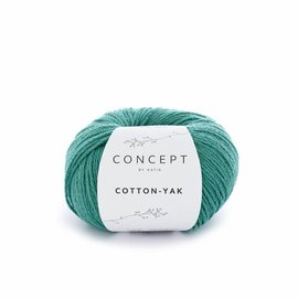 Katia Cotton Yak 122 Groen