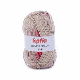 Katia Menfis Color 103  Mosterd-Roest-Grijs