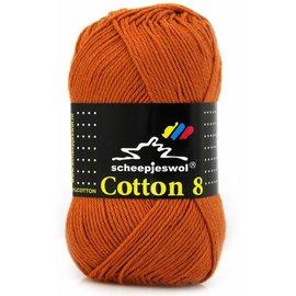 Scheepjes Cotton 8 671 Terracotta