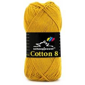 Scheepjes Cotton 8 Scheepjes 722 Geel