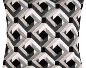 Borduurkussens in spansteek - Bargello
