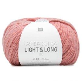 Rico Cotton Light & Long  Roze