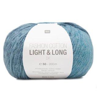 Rico Fashion Cotton Light & Long  Aqua