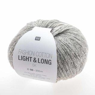 Rico Fashion Cotton Light & Long  Grijs