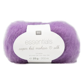 Rico Super Kid  Mohair Loves Silk 36 Plum