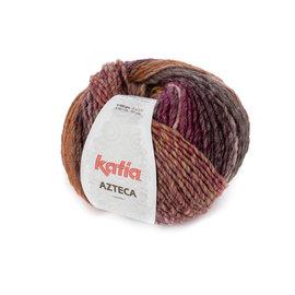 Katia Azteca  7870 Bruin-Framboos-Lichtroze-Geel