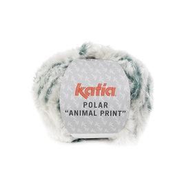 Katia Polar Animal Print 204 Lichtgrijs-Groen