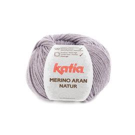 Katia Merino Aran Natur 308 Pastelviolet