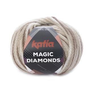 Katia Magic Diamonds 50 Bruin-Ecru