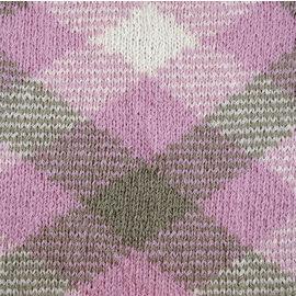 Katia Magic Diamonds 54 Bleekrood-Ecru-Beige