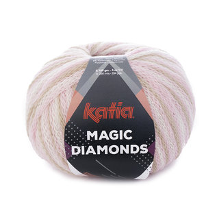 Katia Magic Diamonds 54 Bleekrood-Ecru-Beige