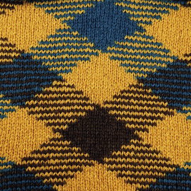 Katia Magic Diamonds 56 Groenblauw-Oker-Bruin