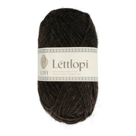Istex Lettlopi 0052  black sheep heather