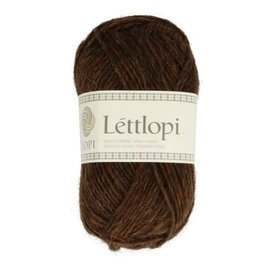Istex Lettlopi 0867  chocolate heather