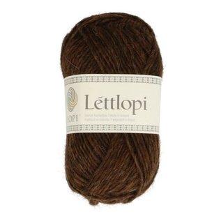 Istex Lettlopi 0867  chocolate heather