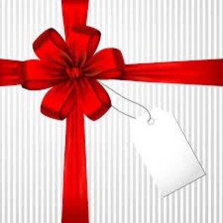 Cadeaubon voor de creatieveling 25