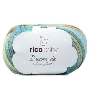 Rico Baby Dream Lux  Dk 13 Petrol-Gelb
