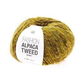 Rico Alpaca Tweed Chunky Senf