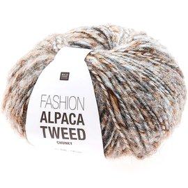 Rico Alpaca Tweed Chunky Hellblau