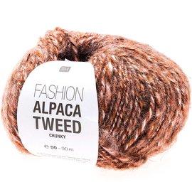 Rico Alpaca Tweed Chunky Rot