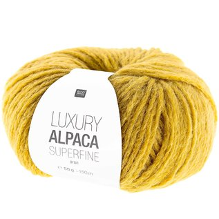 Rico Luxury Alpaca Superfine Aran 11 Senf