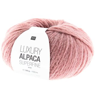 Rico Luxury Alpaca Superfine Aran 13 Altrosa
