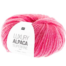Rico Luxury Alpaca Superfine Aran 14 Pink