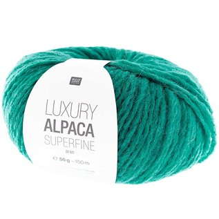 Rico Luxury Alpaca Superfine Aran 15 Gruen