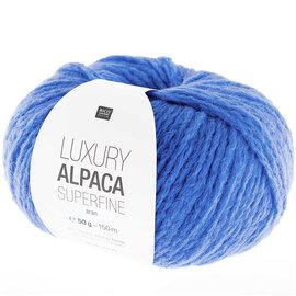 Rico Luxury Alpaca Superfine Aran 16 Azur