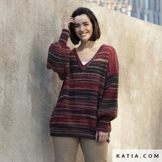 Katia Azteca Fine Lux  408 Zalm-Koraal