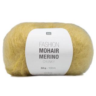 Rico Mohair Merino Chunky 002 Yellow