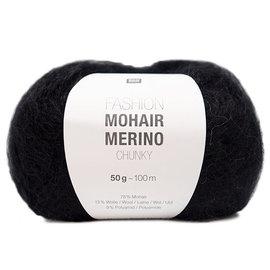Rico Mohair Merino Chunky 008 Black
