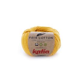 Katia Fair Cotton 20 Geel